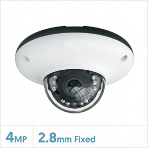 4MP Viper IP Network IR Water-Proof Dome Cameras