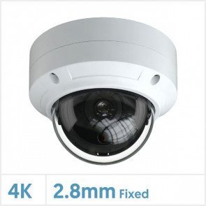 4K/8MP IR Viper Vandal Dome IP Camera