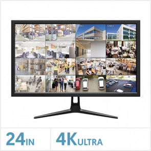 "24"" 4K Ultra HD Security Monitor"