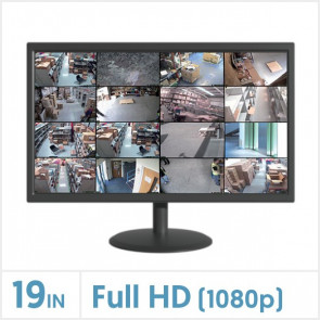 "19"" LED Security Monitor"