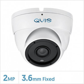 2MP Fixed Lens Turret Camera with 24pcs IR (White)