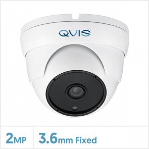 2MP Fixed Lens Turret Camera with 36pcs IR (White)