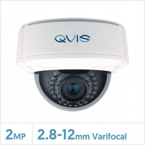 2MP WDR Varifocal 4-in-1 Night Fighter Vandal Camera (White)
