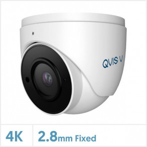 4K/8MP Viper IP GM Series Fixed Lens Turret Camera with Audio (White)
