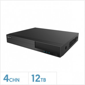 Viper 4K 4 Channel Hybrid DVR with 12TB HDD