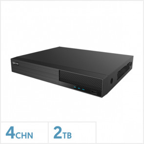Viper 4K 4 Channel Hybrid DVR with 2TB HDD
