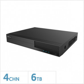 Viper 4K 4 Channel Hybrid DVR with 6TB HDD