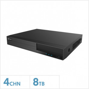 Viper 4K 4 Channel Hybrid DVR with 8TB HDD