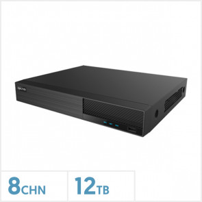 Viper 4K 8-Channel Hybrid DVR with 12TB HDD