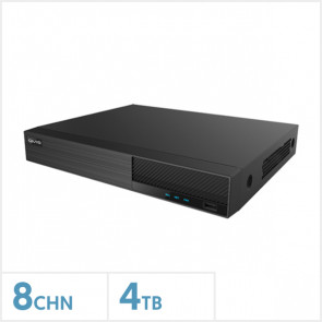 Viper 4K 8-Channel Hybrid DVR with 4TB HDD