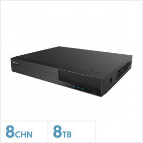 Viper 4K 8-Channel Hybrid DVR with 8TB HDD