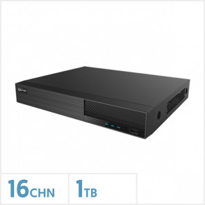Viper 5MP 16 Channel 4-In-1 DVR with 1TB Storage