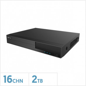 Viper 5MP 16 Channel 4-In-1 DVR with 2TB Storage