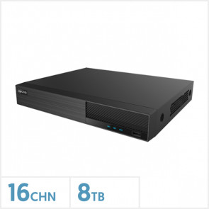 Viper 5MP 16 Channel 4-In-1 DVR with 8TB Storage