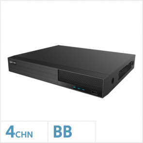 Viper 4K 4 Channel NVR with No HDD