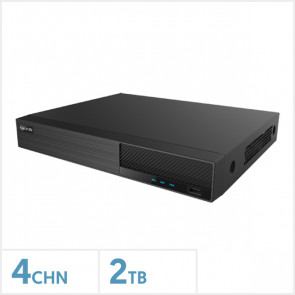 Viper 4K 4 Channel NVR with 2TB HDD