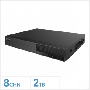 Viper 4K 8 Channel NVR with 2TB HDD
