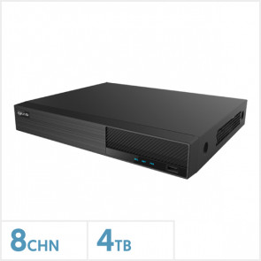 Viper 4K 8 Channel NVR with 4TB HDD