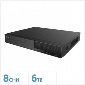 Viper 4K 8 Channel NVR with 6TB HDD