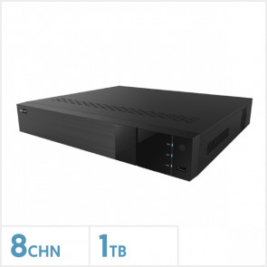 Viper AI 4K 8 Channel NVR with 1TB HDD